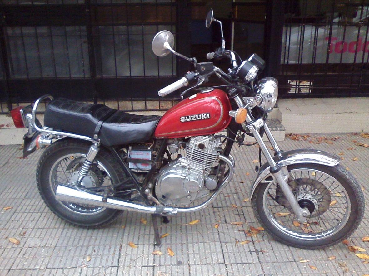 SUZUKI 250 GN 1995