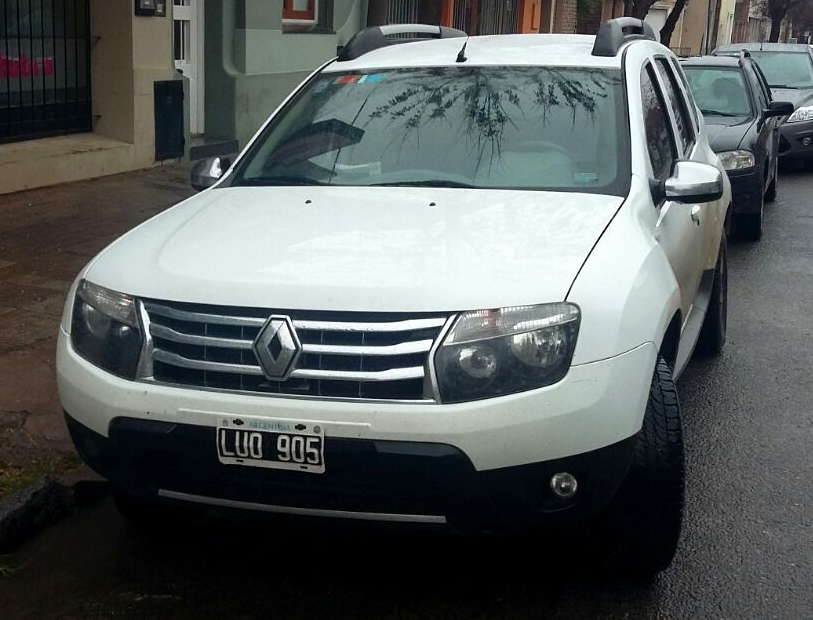 RENAULT DUSTER 4X4 2012