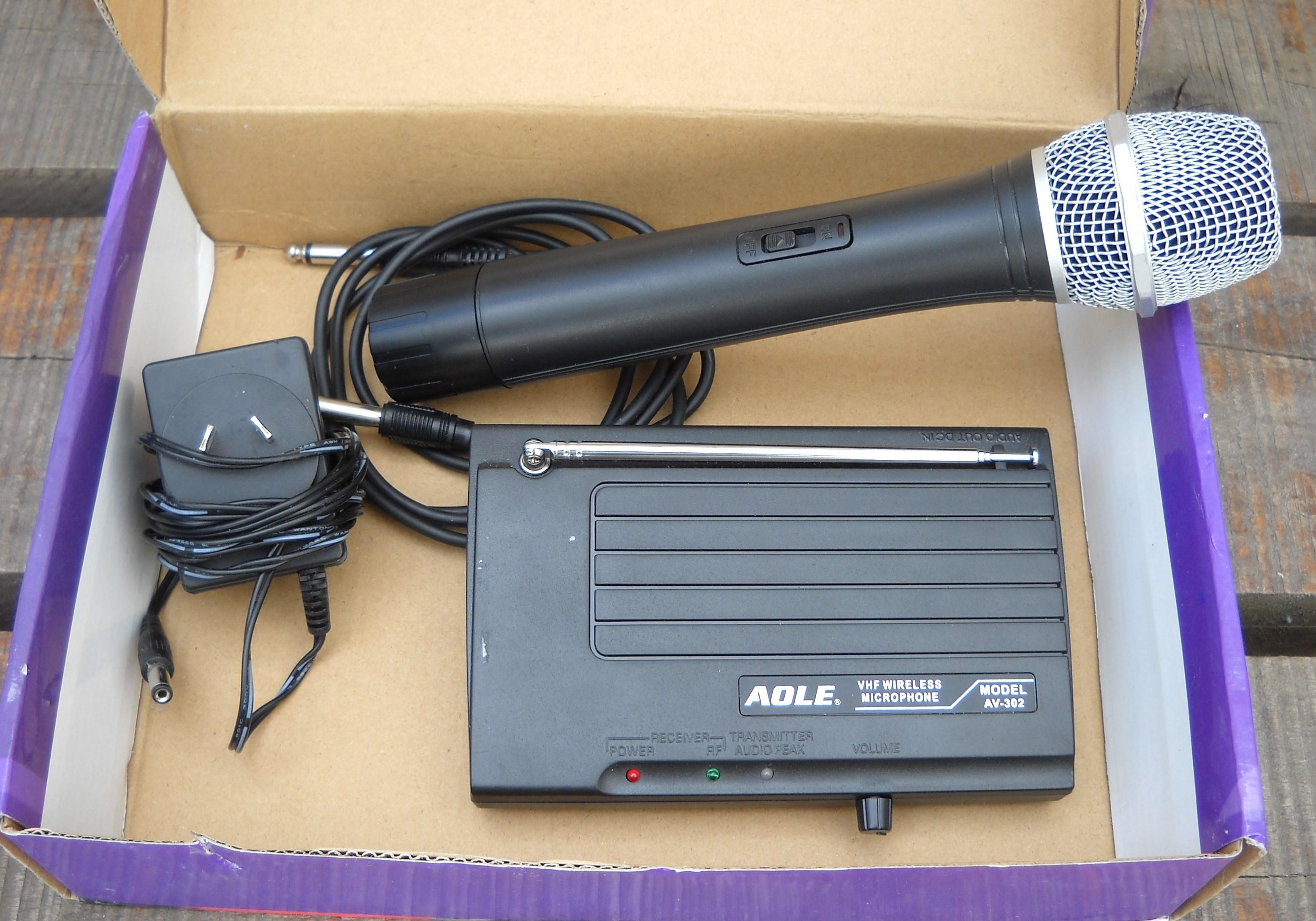 Micrófono Inalábrico
