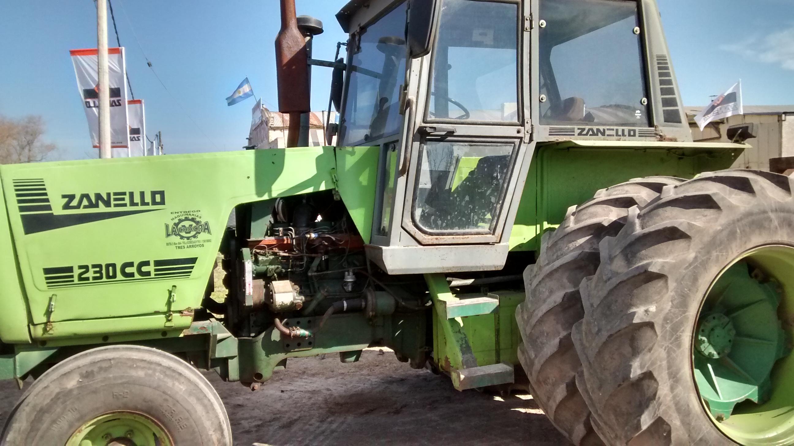 vendo tractor zanello 230