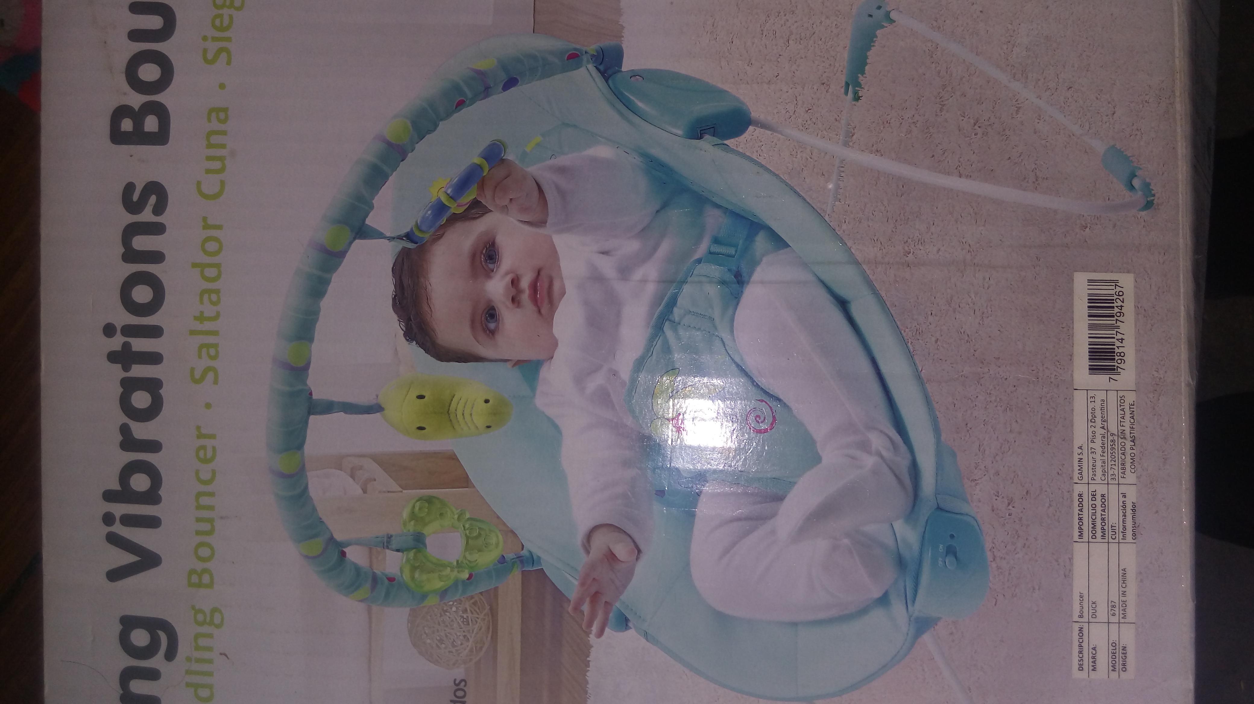 Baby call y mecedora bebé