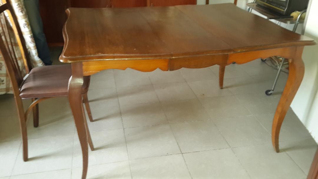 Vendo mesa estilo francés