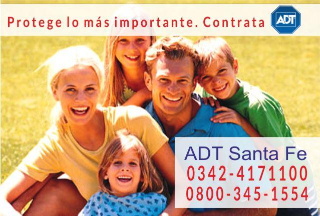 Alarmas ADT (0342) 4171100