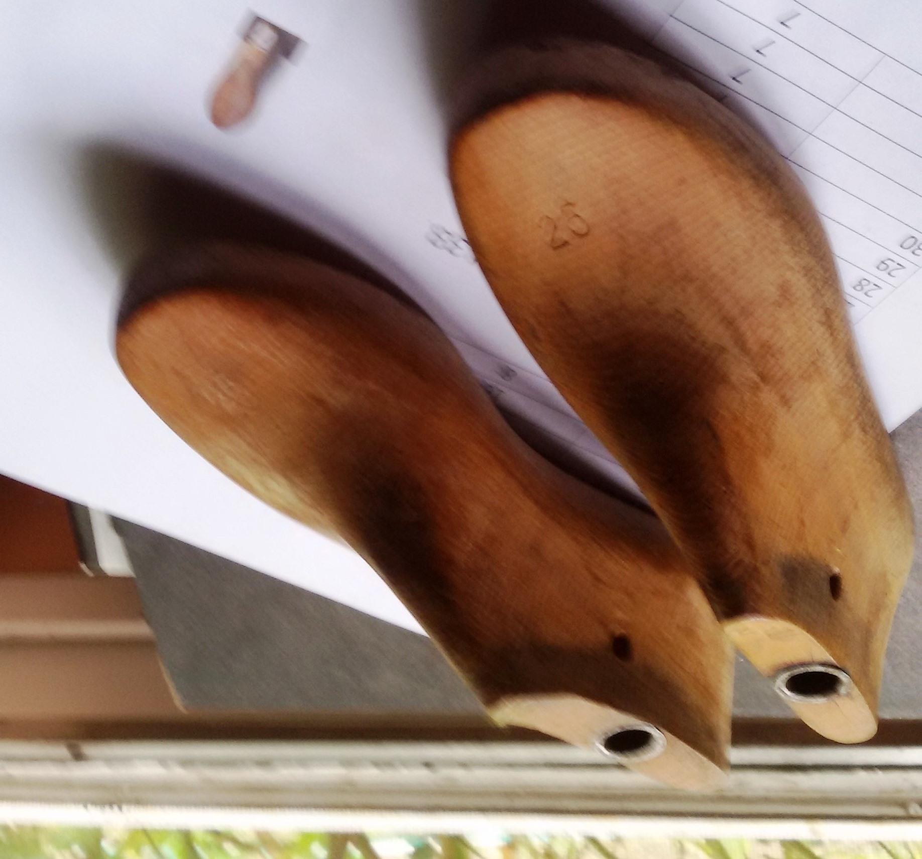 Hormas de calzado