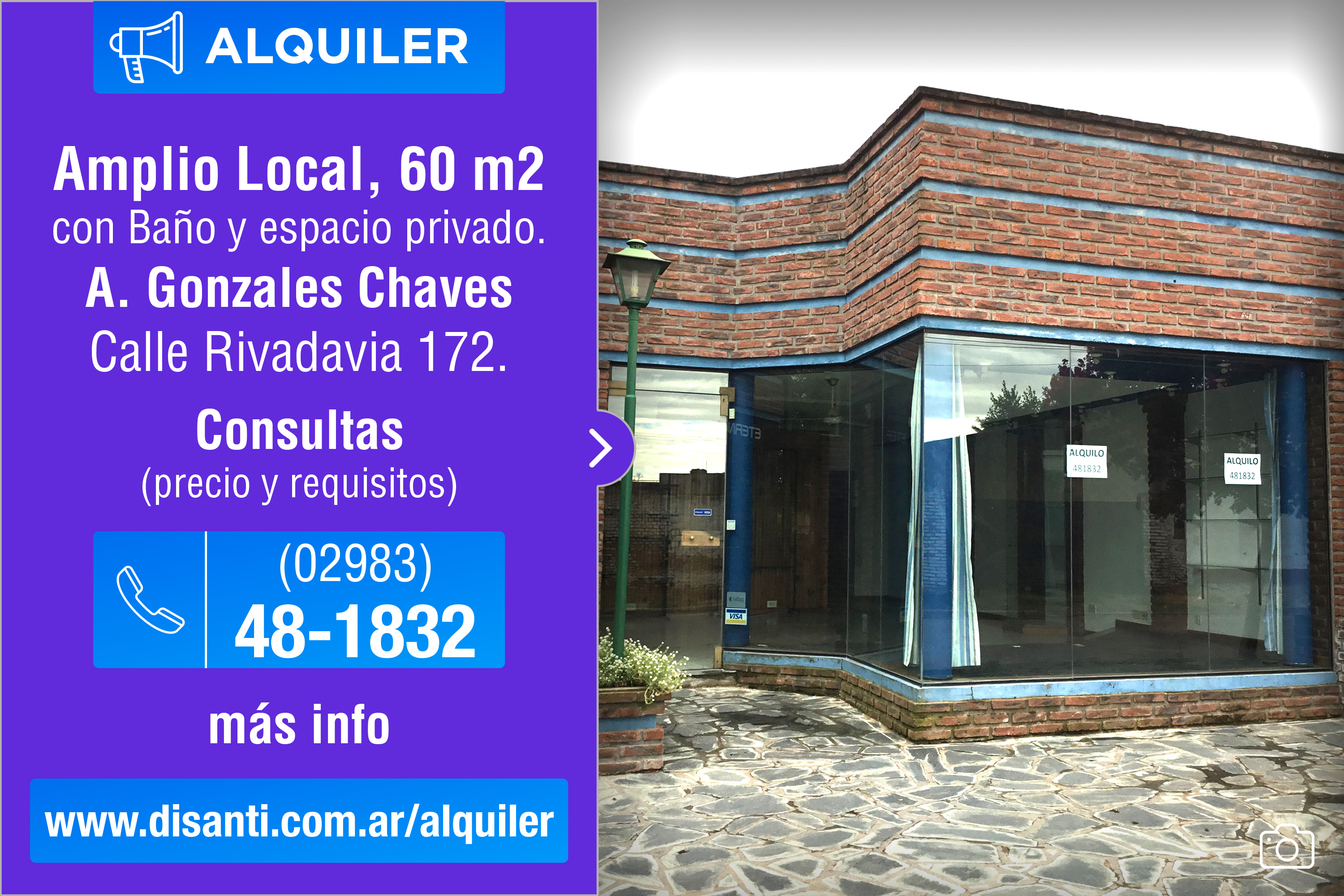 Alquiler Local en G. Chaves