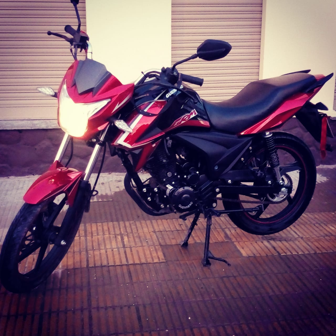 Moto guerrero grm 150cc