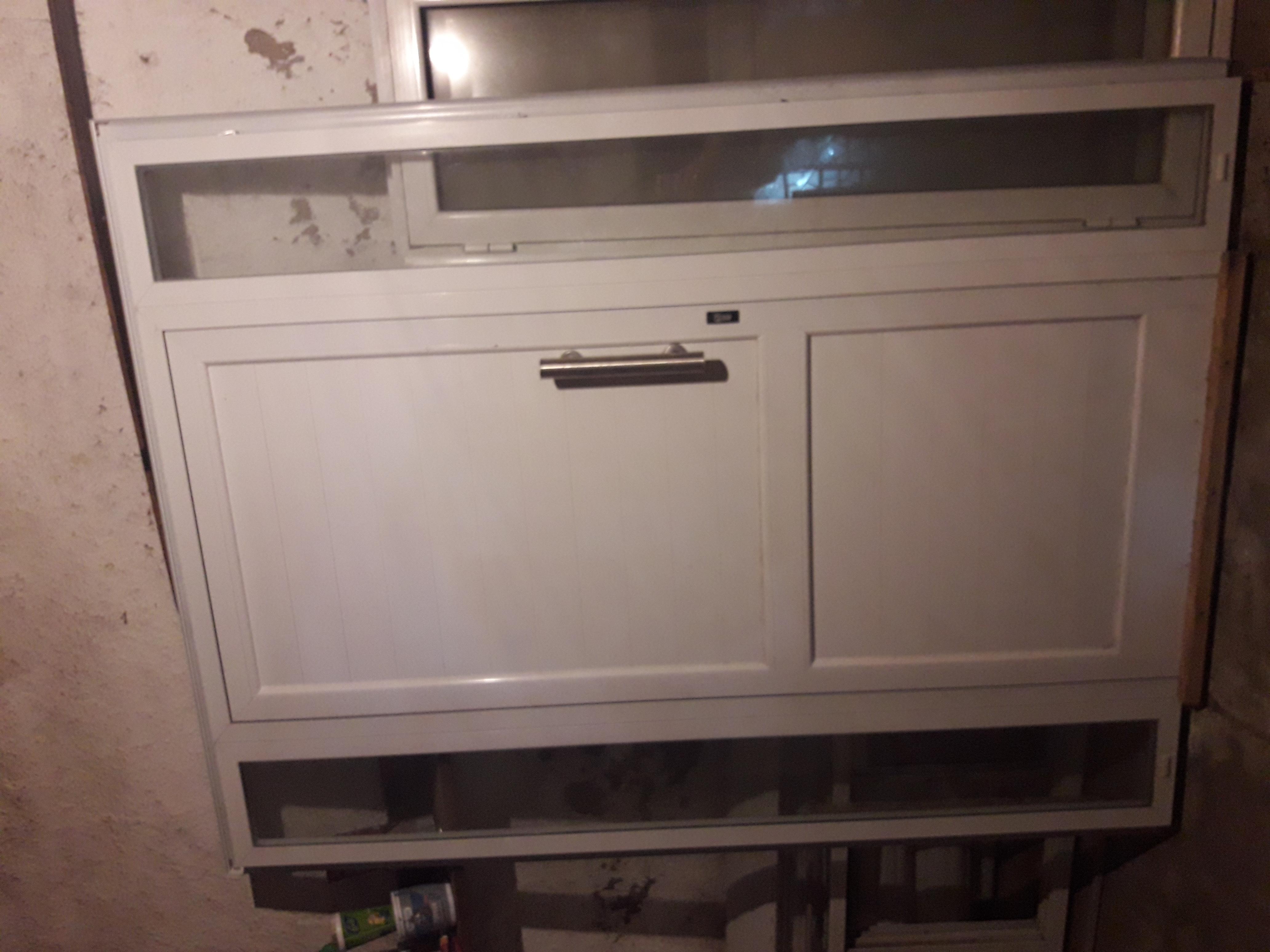 Puerta reforzada Aluminio