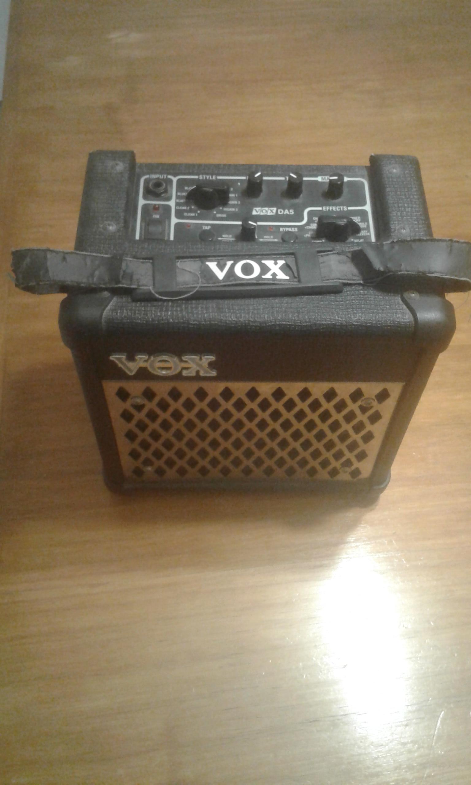 Ampli Guit VOX 5W c/ efectos