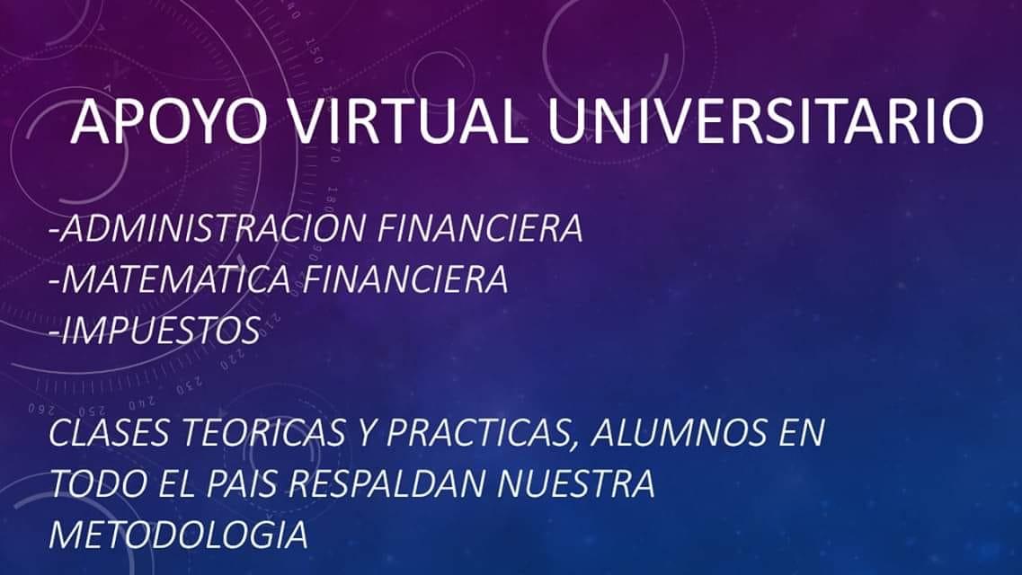 apoyo virtual universitario