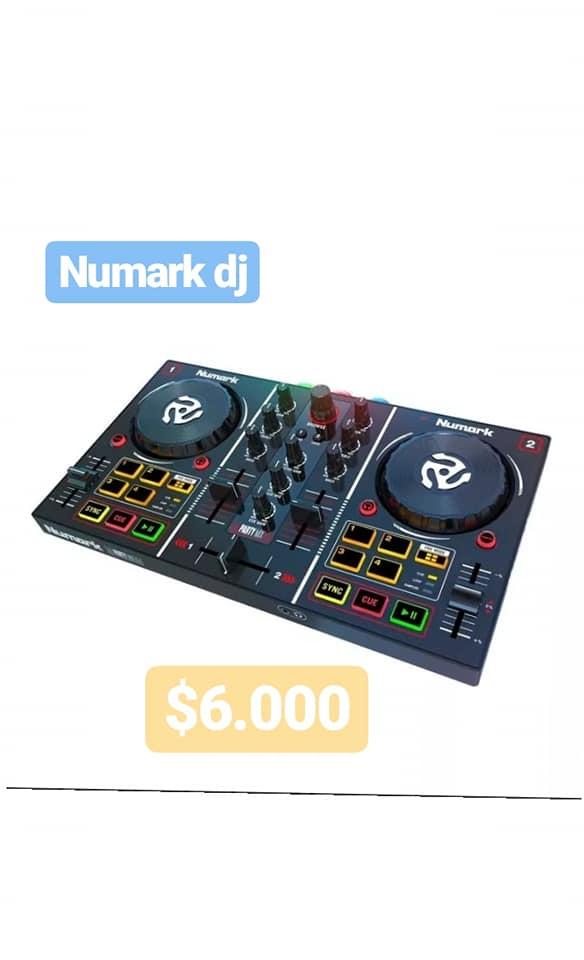 NUMARK CONTROLADOR DJ