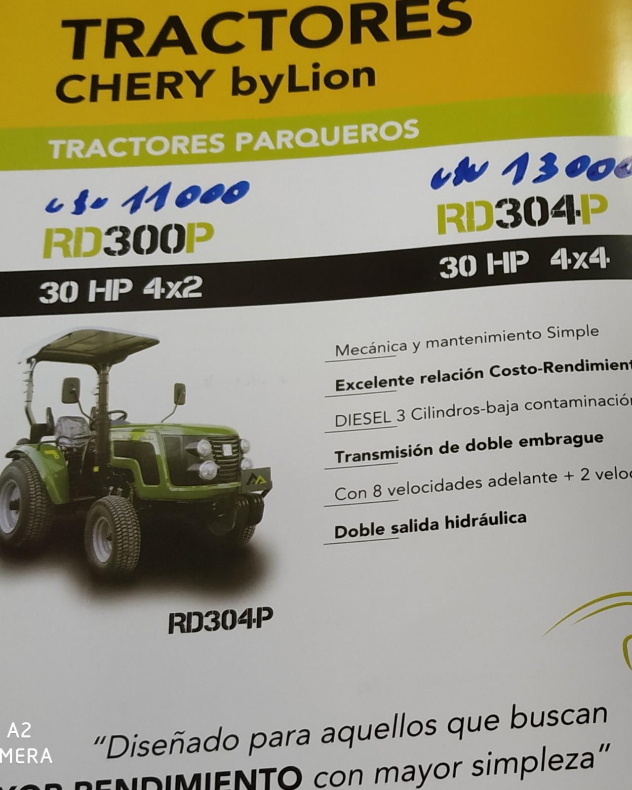 tractor chery