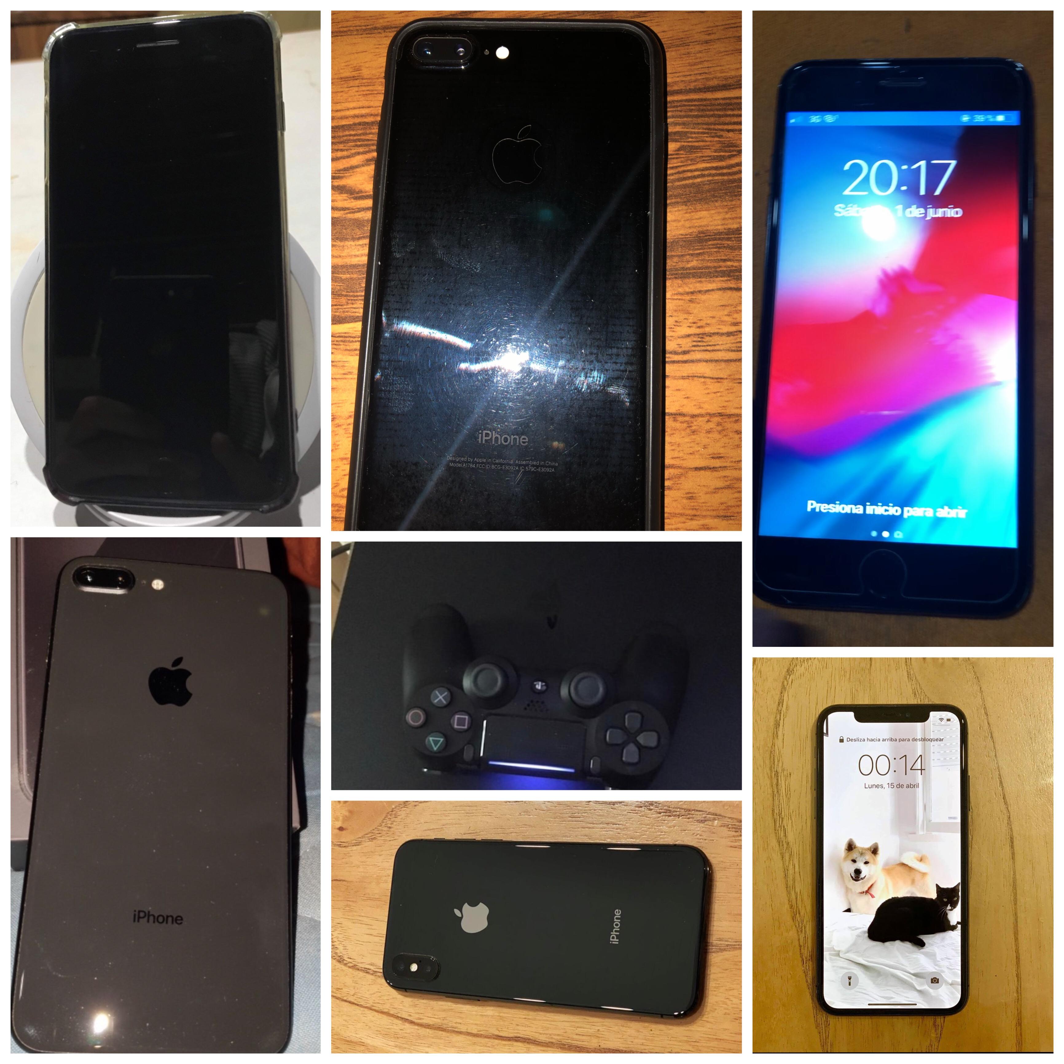 Iphone 8 plus,7 plus,X y ps4