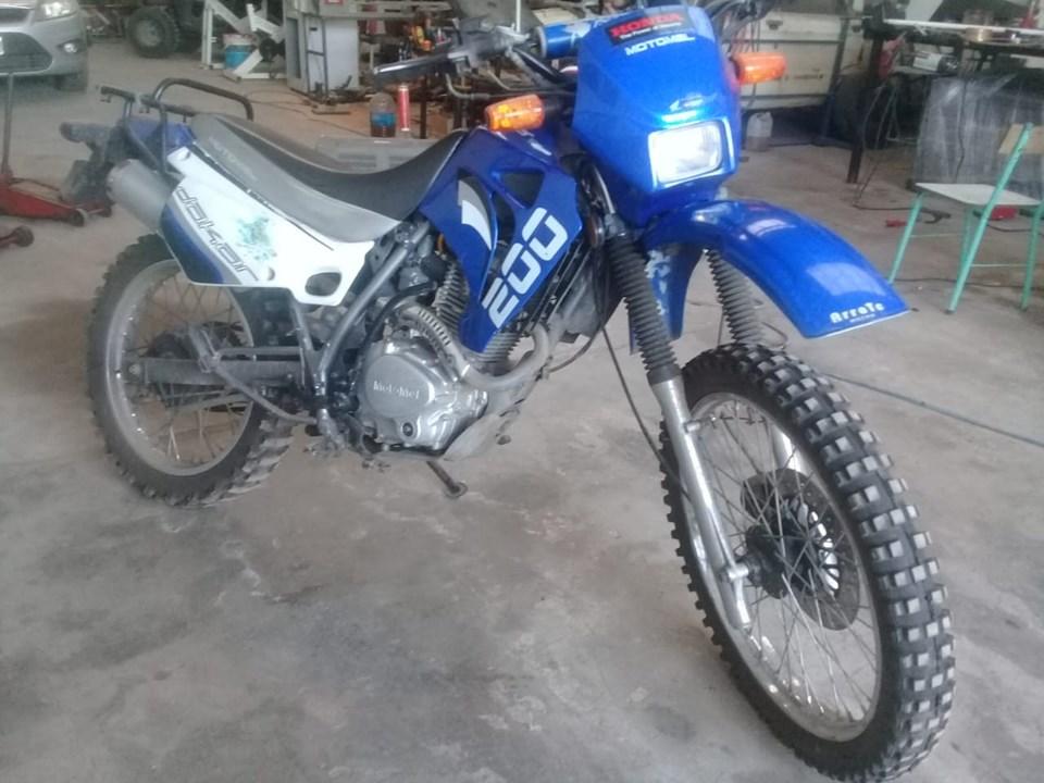 MOTO Dakar 200 2014