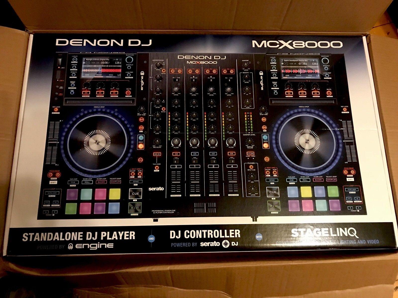 MCX8000 Denon DJ  brand new
