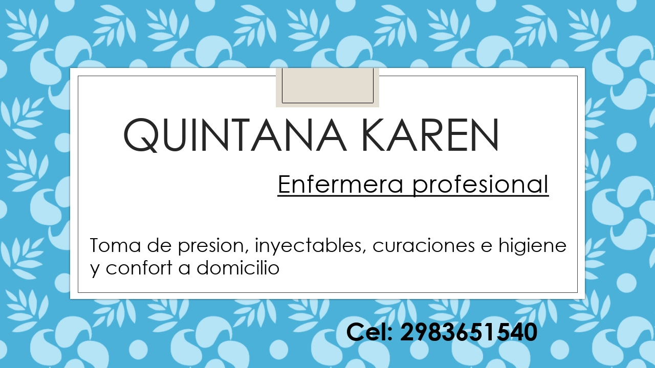 Enfermera profesional