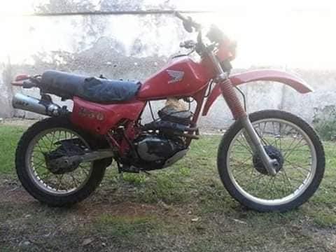 HONDA XL250R 1986