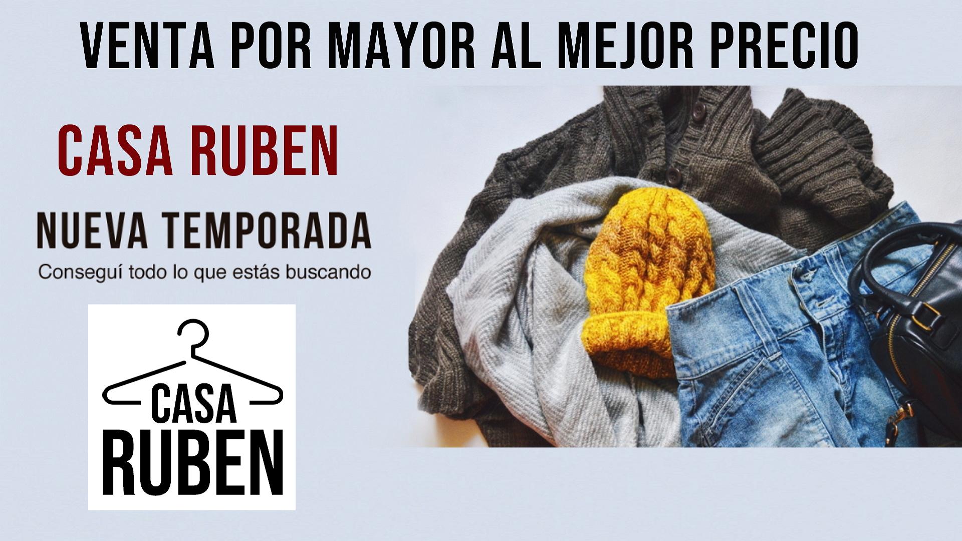 Casa Ruben Ropa por Mayor
