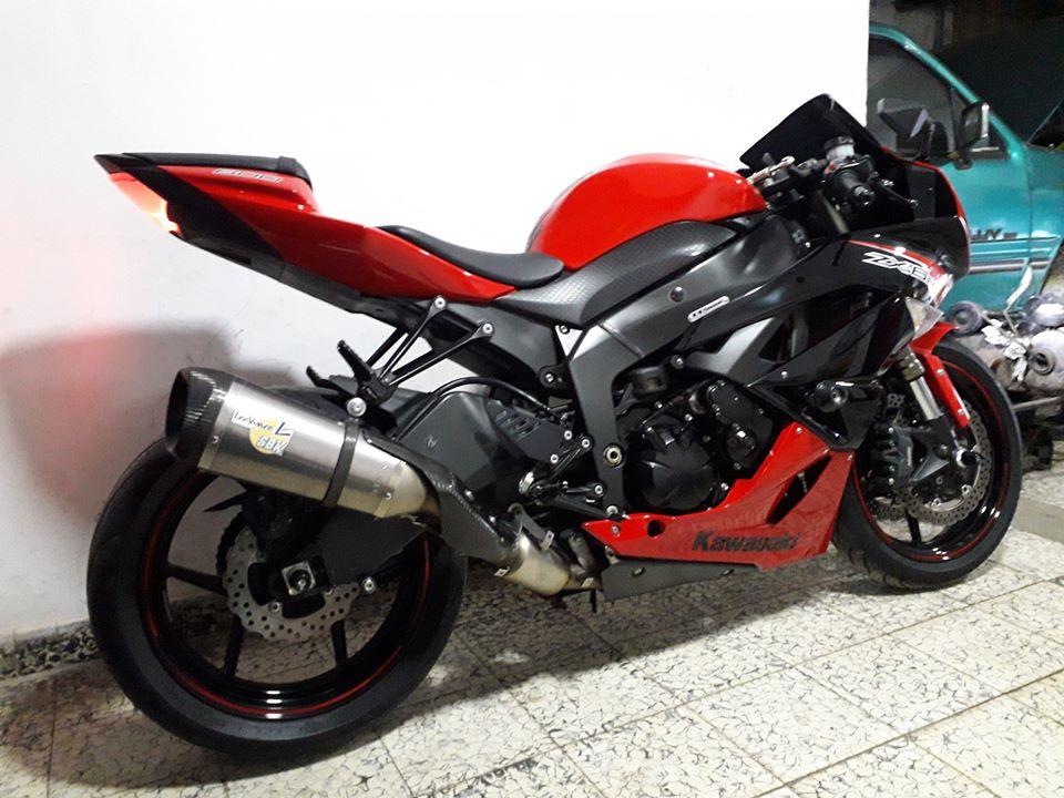 Kawasaki ZX6R 2012