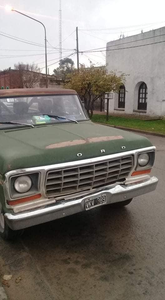 Ford f100 modelo 80