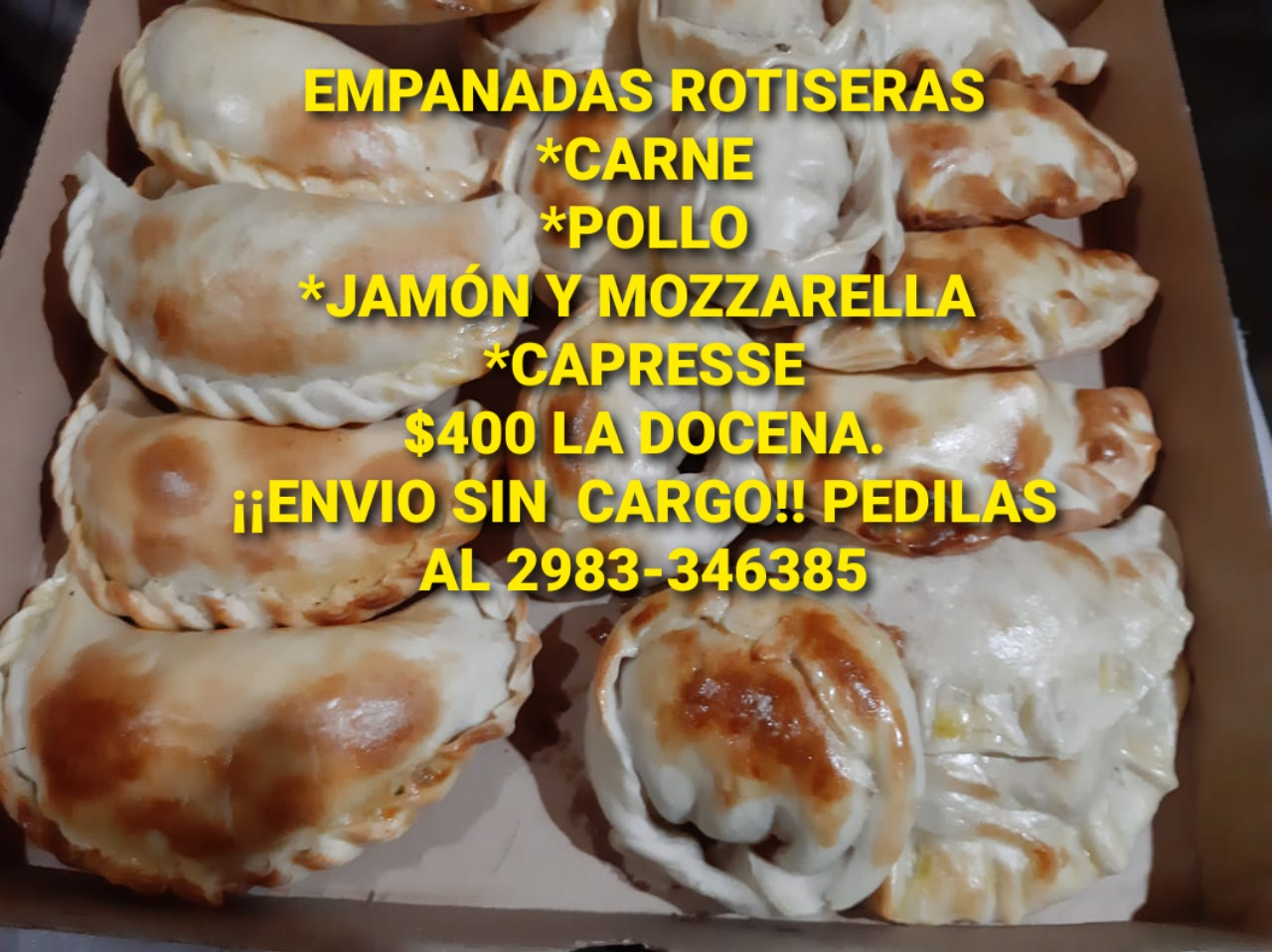 Empanadas rotiseras
